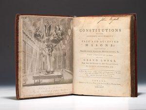Constituciones de Anderson (1723)