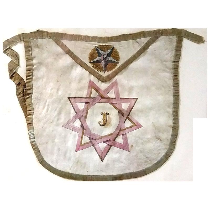 mandil ritual masonería