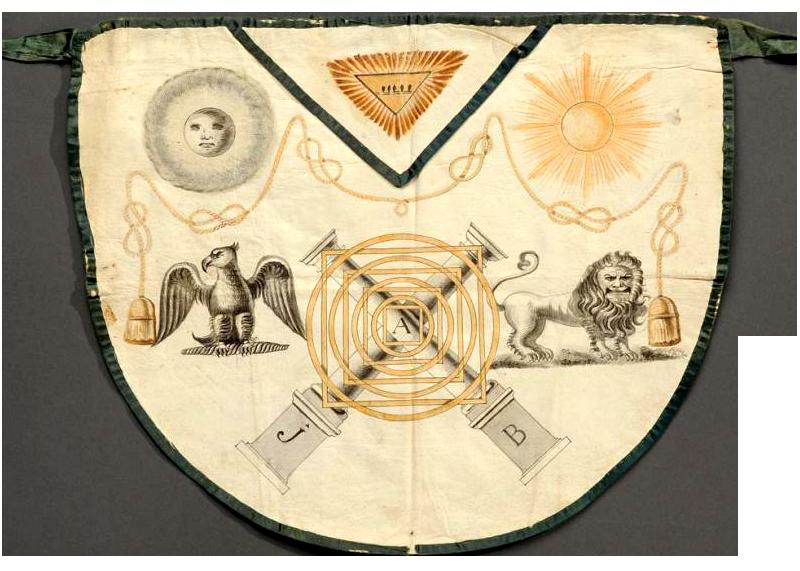 masonería mandil ritual